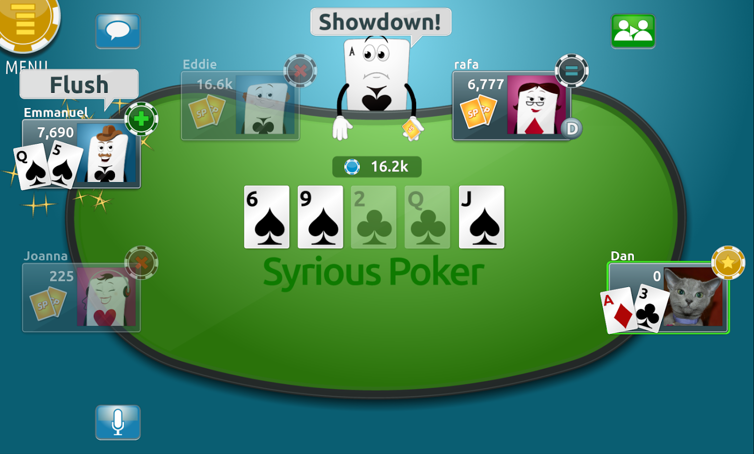 Syrious Poker- screenshot