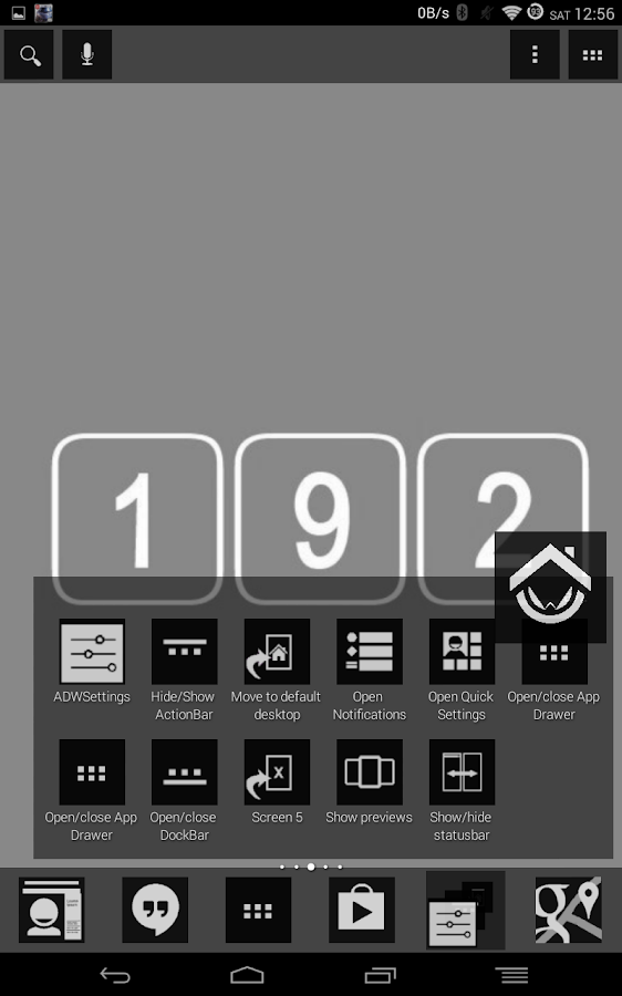 192 Series Black Theme - screenshot