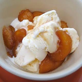 Caramel Peaches.