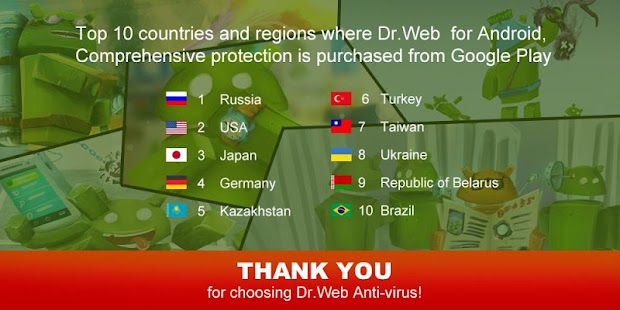 Dr.Web v.9 Anti-virus - screenshot thumbnail