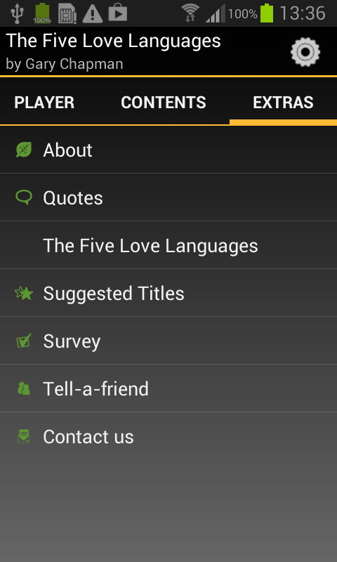 The Five Love Languages- screenshot