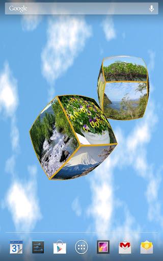 3D Pictures Live Wallpaper PRO
