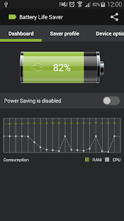 Battery Life Saver- screenshot thumbnail