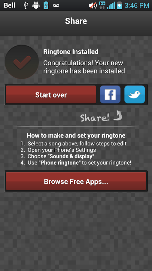 Ringtone Maker- screenshot