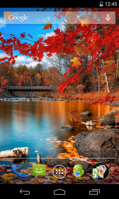 Autumn Live Wallpaper - screenshot
