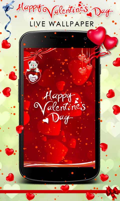 Valentine's Day Live Wallpaper- screenshot