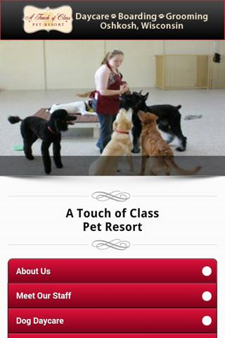 a touch of class pet resort android apps on google play