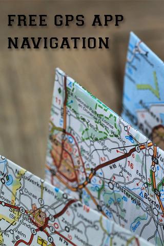 免费的GPS导航应用程序