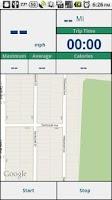 Screenshot of Ride Tracker