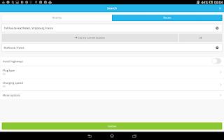 Screenshot of ChargeMap
