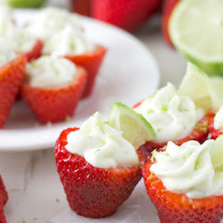 Key Lime Pie Stuffed Strawberries Recipe