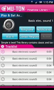 Basic elec. sound library1 - náhled
