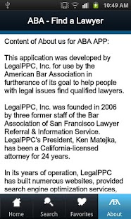 Find a Qualified Lawyer - screenshot thumbnail