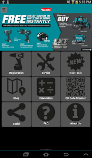 Makita Mobile- screenshot thumbnail