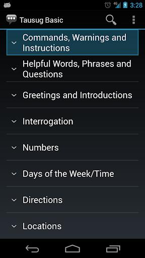 Tausug Basic Phrases