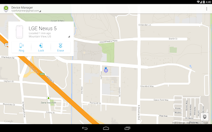 Android Device Manager Screenshot 1