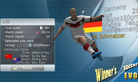 Winner Soccer Evolution Elite 1.5.4 screenshot 147120