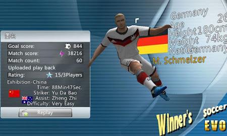 Winner Soccer Evolution Elite 1.5.4 screenshot 147120