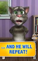 Screenshot of Talking Tom Cat 2