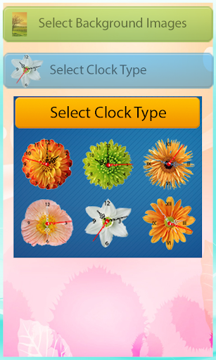 【免費個人化App】Flower Clock live wallpaper-APP點子