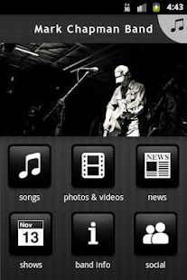 Mark Chapman Band - screenshot thumbnail