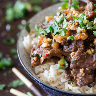 Spicy Beef with Peanuts