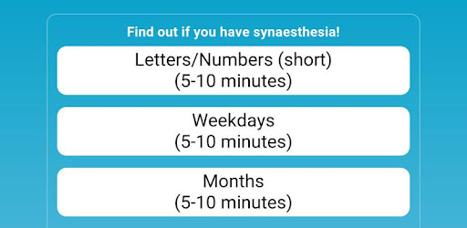synesthesia simulation dating