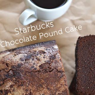 Starbucks Style Gluten Free Chocolate Cinnamon Pound Cake.