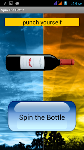 Spin the Bottle Dare