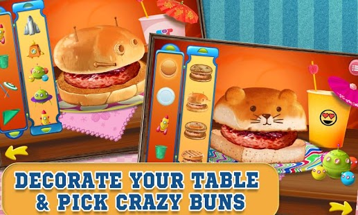 Burger Maker Crazy Chef- screenshot thumbnail