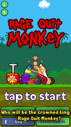 Rage Quit Monkey