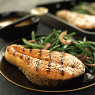 Grilled Salmon or Tuna Steaks