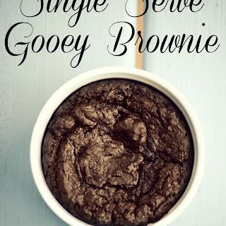 Single Serve Brownie Cake Recipe