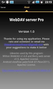WebDAV Server - screenshot thumbnail