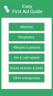 Easy First Aid Guide screenshot for Android