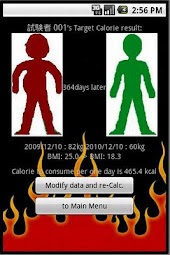 [CAL CAL]--Calorie Calculater