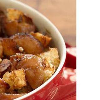 Apple-Caramel Bread Pudding