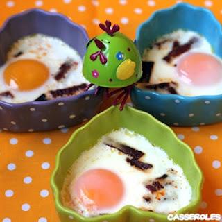 Egg Casserole with Chorizo.