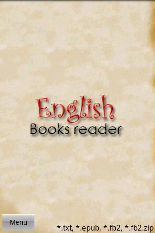 android English Books Reader Screenshot 5