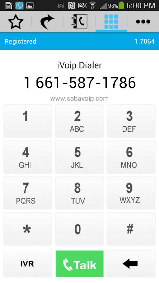 iVoip Dialer - Mobile Dialer- screenshot