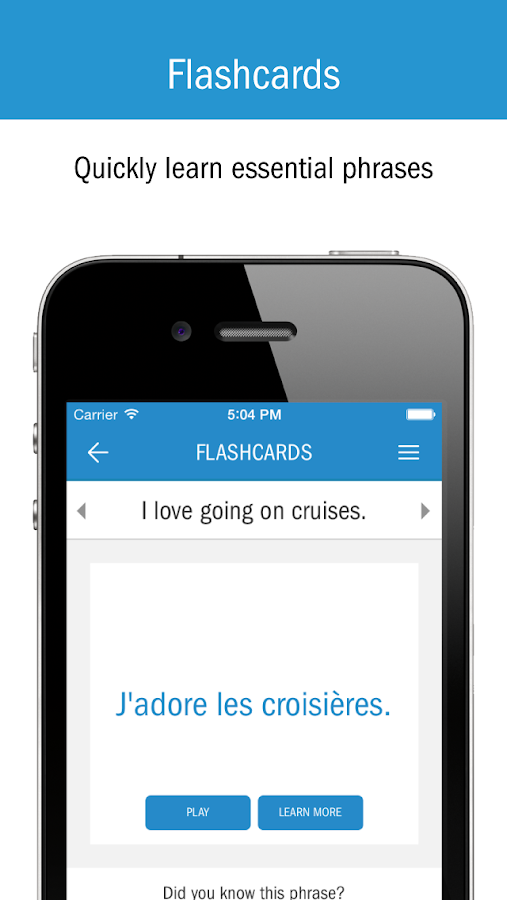 Cruise Lingo- screenshot