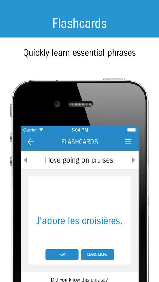 Cruise Lingo - screenshot