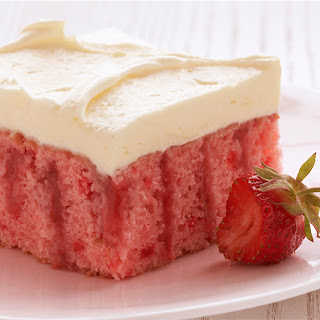 Strawberry Refrigerator Cake.