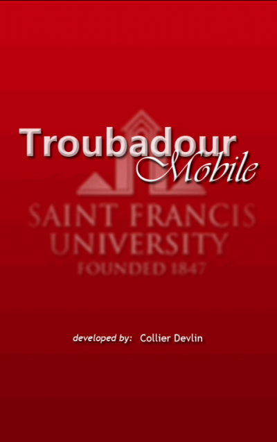 SFU Troubadour Mobile- screenshot