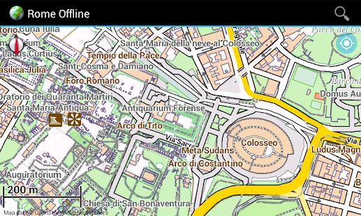 offline karte italien kleve landkarte. Black Bedroom Furniture Sets. Home Design Ideas