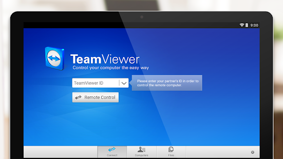 TeamViewer for Remote Control – Vignette de la capture d'écran