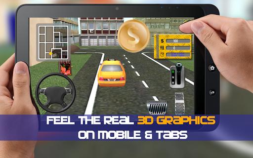 Free Taxi Driver Simulator 3D