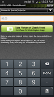 Screenshot of LAFCU Mobile Banking