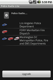 Police Radio Lite- screenshot thumbnail