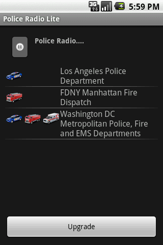 Police Radio Lite - screenshot